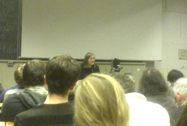 Amy Goodman an der HU Berlin